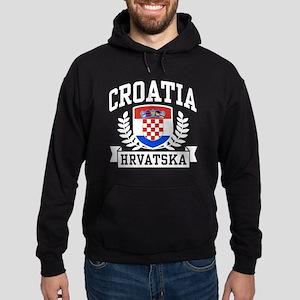 Croatia Hrvatska Hoodie (dark)