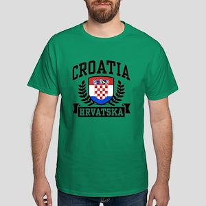 Croatia Hrvatska Dark T-Shirt