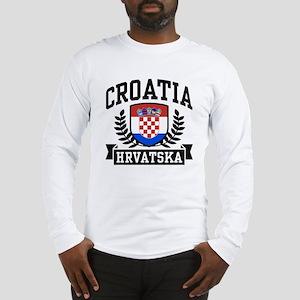 Croatia Hrvatska Long Sleeve T-Shirt