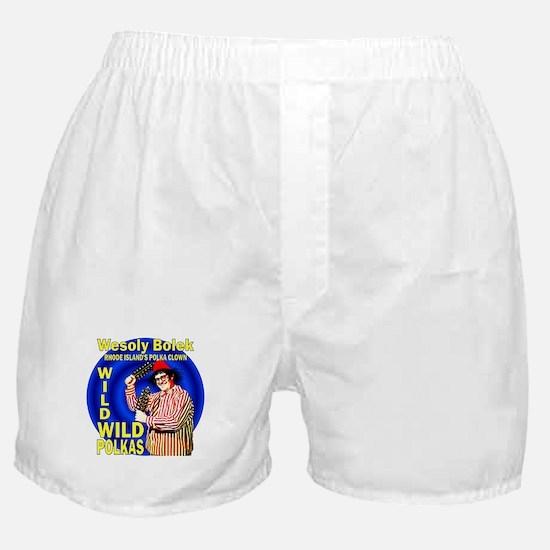 Wild Polka Clown Boxer Shorts