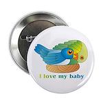 Bird Mum Button