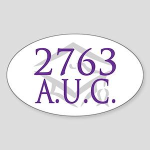 Class of 2763 (arabic) Sticker (Oval)