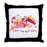 Baby-girl Gift  Throw Pillow