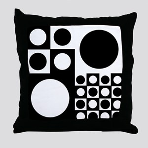 Mod Dots Throw Pillow