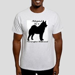 ADOPTED Norwegian Elkhound Light T-Shirt
