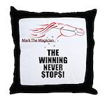 Mark The Magician Throw Pillow