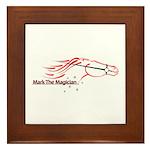 Mark The Magician Framed Tile
