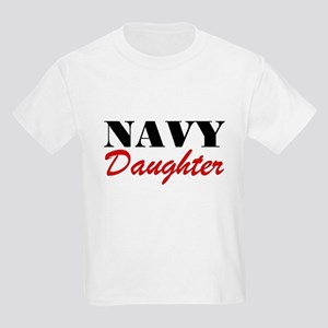 Navy Daughter Kids T-Shirt
