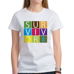 Ovarian_Cancer Survivor Women's T-Shirt