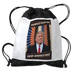 Donald Trump 2020 Drawstring Bag