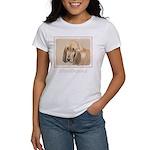Bloodhound Women's Classic White T-Shirt