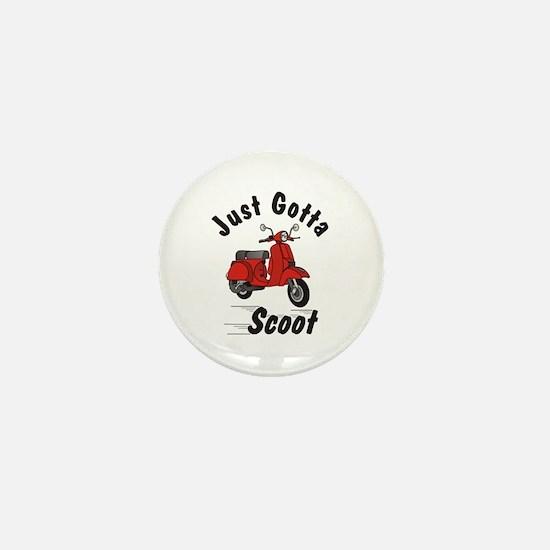 Just Gotta Scoot Classic Mini Button