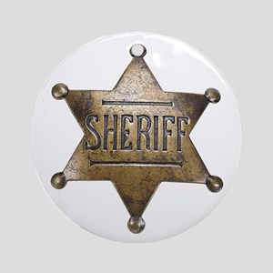 Sheriff -  Ornament (Round)