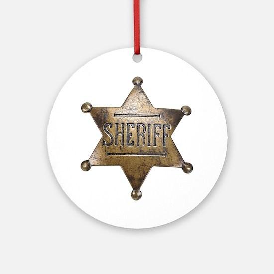 Sheriff -  Ornament (Round)