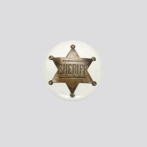 Sheriff - Mini Button