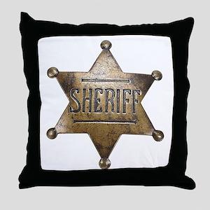 Sheriff -  Throw Pillow