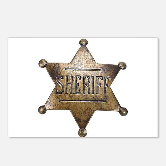 Sheriff -  Postcards (Package of 8)