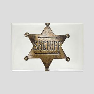 Sheriff - Rectangle Magnet