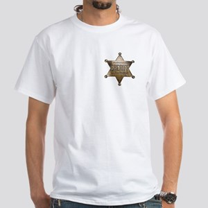 Sheriff - White T-Shirt