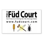 Füd Court Sticker