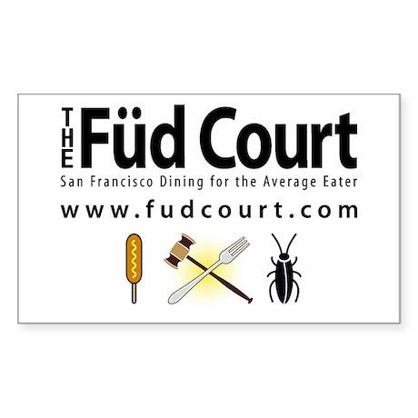 Füd Court Sticker