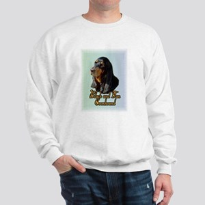 Black and Tan Coonhound Sweatshirt