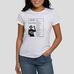 Shopping Checklist Women's T-Shirt