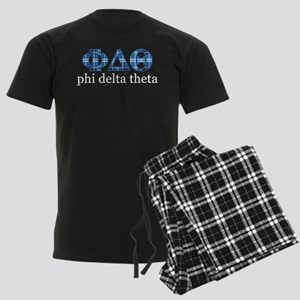 Phi Delta Theta Letters Name Men's Dark Pajamas