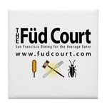 Füd Court Tile Coaster