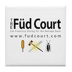 Füd Court Tile Coaster