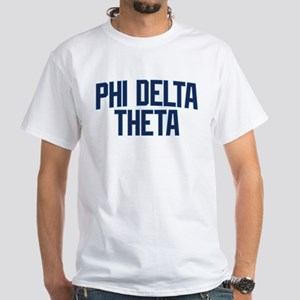 Phi Delta Theta Athletic White T-Shirt