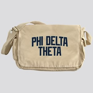 Phi Delta Theta Athletic Messenger Bag