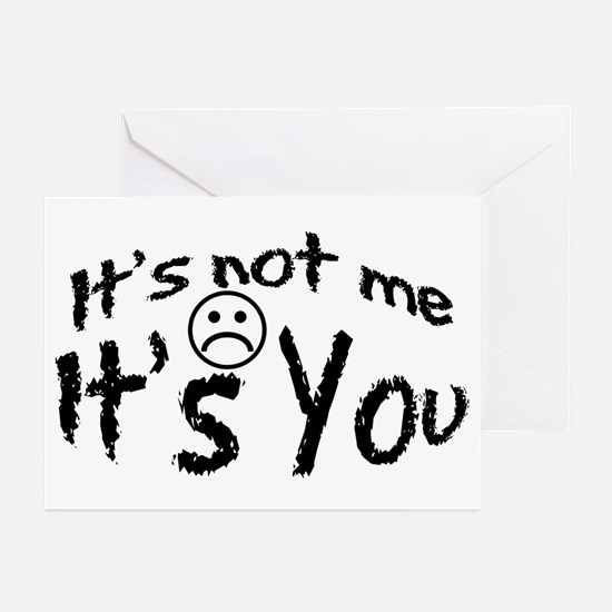 It's Not Me Greeting Cards (Pk of 10)