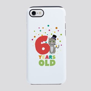 Six Years sixth Birthday Party iPhone 7 Tough Case