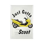 Just Gotta Scoot Reflex Rectangle Magnet (100 pack