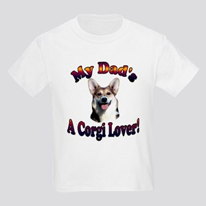 My Dad's a Corgi Lover - Giml Kids Light T-Shirt