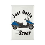 Just Gotta Scoot Helix Rectangle Magnet (100 pack)