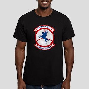 Hmm-161 Men's Fitted T-Shirt (dark)