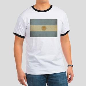 Vintage Argentina Flag Ringer T