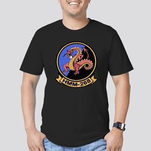 HMM-268 Flying Tigers Men's Fitted T-Shirt (dark)