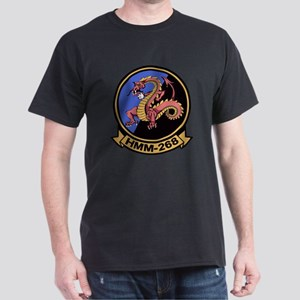 HMM-268 Flying Tigers Dark T-Shirt