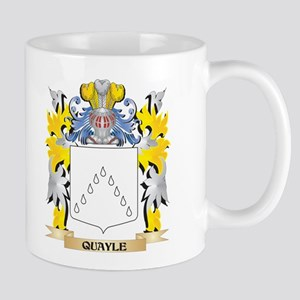 Quayle Family Crest - Coat of Arms Mugs