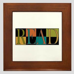 Read - 2 Framed Tile