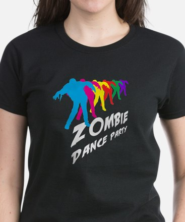 Zombie Dance Party Women's Dark T-Shirt