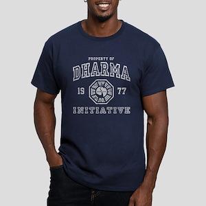 Dharma 77 Men's Fitted T-Shirt (dark)