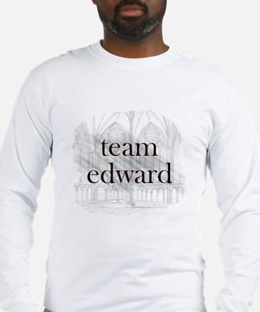 Team Edward Gothic Long Sleeve T-Shirt