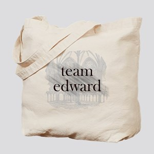 Team Edward Gothic Tote Bag