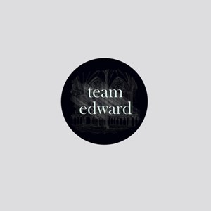 Team Edward Gothic Mini Button