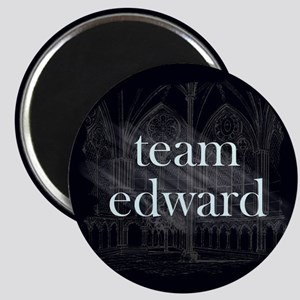 Team Edward Gothic Magnet