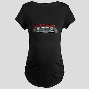 Rearview Mini Maternity Dark T-Shirt